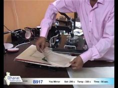 B917 -- Sublimation Glass Tile - YouTube
