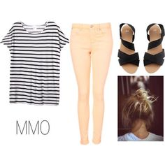 spring school outfit by summerwishbarbie on Polyvore by Raelynn8