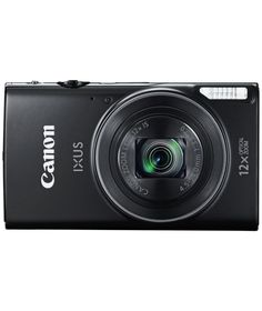 Buy Canon IXUS 275 21MP 12x Zoom Compact Digital Camera - Black at Argos.co.uk - Your Online Shop for Compact digital cameras.
