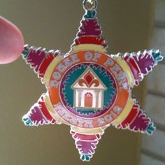 May parents very first fiesta medal that I helped design for them.
