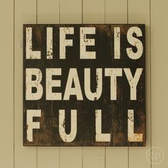 Indeed it is. #inspiration #quote #lifeisbeautiful £62.95 www.homeandpantry.com