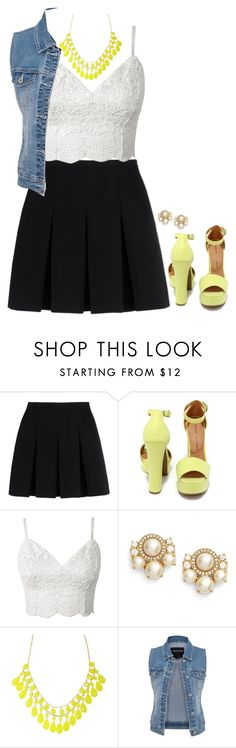 """""""Untitled #92"""" by rosemarylopez-1 ❤ liked on Polyvore featuring Alexander Wang, Chinese Laundry, Kate Spade and maurices"""