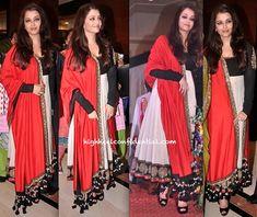 #Aishwarya Rai Bachchan wears #Sabyasachi to Giants Awards 2013