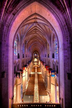 The National Cathedral in Washington, DC. I used to dream of getting married here when I was a kid :)