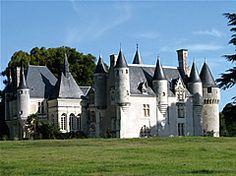 Chateau renacentista en el Valle del Loira - Francia