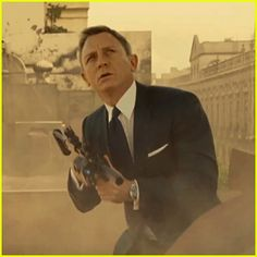 Daniel Craig is fully loaded while blasting into action in the final trailer for his upcoming James Bond 007 movie Spectre! Here is the film's official synopsis: A cryptic message from the past sends James Bond on a rogue mission to Mexico City and eventually Rome, where he meets Lucia Sciarra (Monica Bellucci), the beautiful