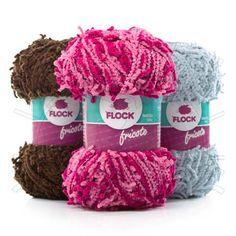 Fio Fio Fricote Flock Lançamento Flock Textil 2013 Composição: 100% Poliéster Contém: 90m Fabricante: Flock Textil