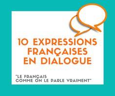 Découvrez 10 expressions françaises et écoutez une conversation entre deux amies. Apprenez à parler français de manière plus naturelle !