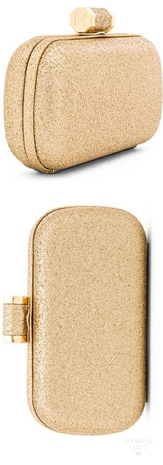 HALSTON HERITAGE OBLONG MINAUDIERE CLUTCH | LOLO