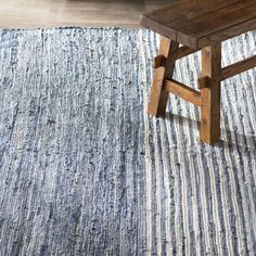 Mack & Milo™ Striped Handmande Braided Cotton Bright Blue/Navy Rug & Reviews   Wayfair Blue And White Rug, Peaceful Bedroom, Rug Loom, Navy Rug, Traditional Area Rugs, High Fashion Home, Dream Rooms, Blue Area Rugs, Braids