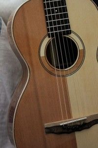 Custom Guitar, a Patchwork Parlor Lichty Guitar