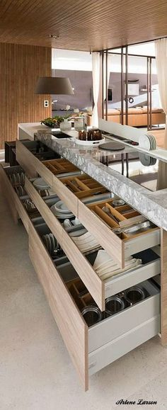 perfect kitchen storage drawers