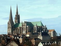 Chartres Cathedral – gothic architecture #gothicarchitecture