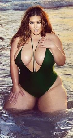 Extremely hot and curvy women with huge jiggling tits