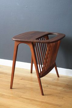 Vintage Mid-Century Magazine Side Table by Arthur Umanoff