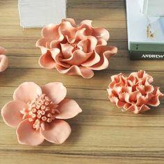 Resultado de imagen para ceramic flower