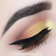 For this look I used eyeshadows vanilla bean, chickadee, cocoa bear and americano, foiled eyeshadows fortune teller and flame thrower and duo chrome eyesha
