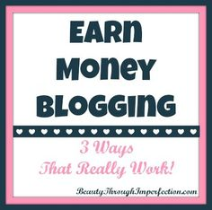 One of my goals for the year was to start earning money on my blog. I've been working towards this goal for several months, and it actually started to happen back in April! I thought it would be nice to make a bit of money through ads since I'm already spending so much time on...