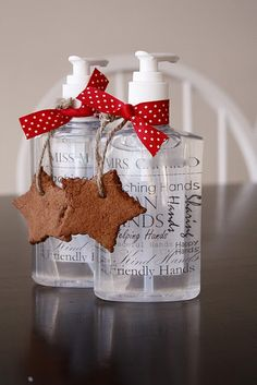 teacher gifts - personalized sanitizer