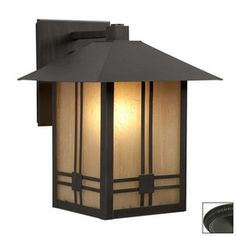 Galaxy�11-in H Oil-Rubbed Bronze Outdoor Wall Light