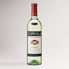 One of my favorite discoveries at WorldMarket.com: Coppola Bianco Pinot Grigio