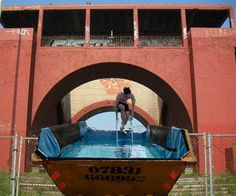 Dumpster Concepts On Pinterest Shipping Container Pool Kiosk And El Greco
