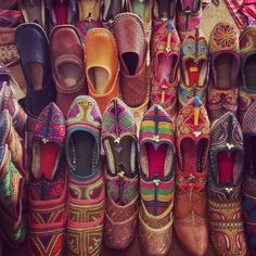 #Indian @Handicrafts @shoes #Chappals #Rajasthan