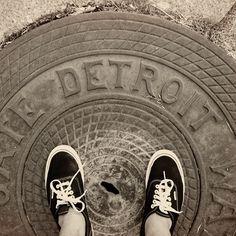 Detroit Manhole Cover, Detroit, MI