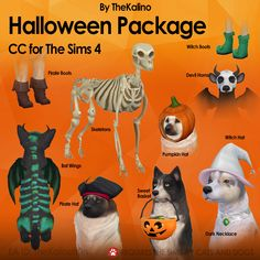 The Sims 4 Halloween Package by kalino-thesims The Sims 3 Pets, Sims 4 Pets Mod, Sims 4 Controls, Sims 4 Cc Folder, The Sims 4 Packs, Sims 4 Dresses, Sims4 Clothes, Sims 4 Mm, The Sims 4 Download