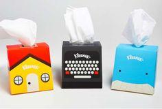 Kleenex Desktop Companion (Student Work) on Packaging of the World - Creative Package Design Gallery Brand Packaging, Box Packaging, Product Packaging, Smart Packaging, Innovative Packaging, Design Packaging, Product Label, Kleenex Box, Chocolate Packaging
