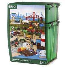 BRIO 33766 - Set completo mundo tren de juguete BRIO, IndalChess.com Tienda de juguetes online y juegos de jardin