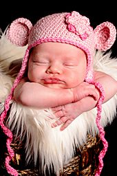 Free Crochet Baby Earflap Hat Pattern. This is tooo cute. I'm going to try this, I think.