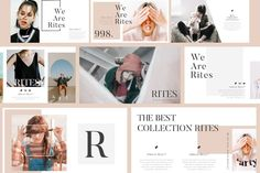 Ad: RITES Creative Keynote Template by Rits Studio on Overview RITES has a Minimal professional, ultra-modern and unique design, where each slide is created with love and attention to detail. Templates Powerpoint, Keynote Template, Creative Powerpoint, Powerpoint Tips, Microsoft Powerpoint, Presentation Design, Presentation Templates, Business Presentation, Designers Gráficos