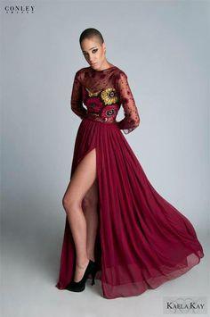 jolie robe de soirée en pagne et dentelle