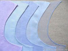 Las costuras para la costura de las telas difíciles: la seda, el encaje, el terciopelo. Las Clases maestras.