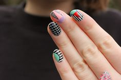boomnails: NAILS INSPIRED BY THE WONDERFUL CAMILLE WALALA