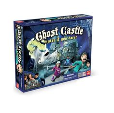 Ghost Castle Game - - Product Description: Ghost Castle is a classic three dimensional haunted castle race game! The entire game board is a supernatural haunted house complete with doors Love Games, Best Games, Adult Games, Games For Kids, Halloween Board Game, Board Game Store, Classic Board Games, Family Games, Old Toys