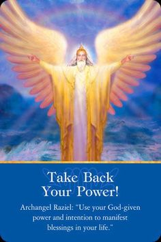 "Raziel means "" secrets of God."" He heals our spiritual and psychic blocks. Raziel is also helpful with dream interpretations and past life memories. ( Doreen Virtue, PH.D - Angels 101)"
