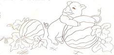 Artes da Nil - Riscos e Rabiscos: Semaninha do porquinho da fazenda