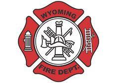 Vector logo download free: Wyoming Fire Department Logo Vector