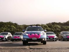 Going head to head with Uber, the ride-sharing service brings its pink mustache to Brooklyn and Queens.