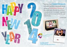 #Happy New Year #2014 #calendar #personalized #Rememberance