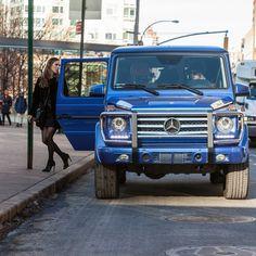 @EditorialistMagazine founders Kate Davidson Hudson and Stefania Allen arrive at #MBFW in style in the G550.  #Mercedes #Benz #MercedesBenzFashionWeek #FashionWeek #Fashion #Style #GClass #G550 #AMG #instacar #carsofinstagram #germancars #luxury
