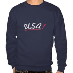 Rock your nation sweatshirt - Usa! - Blue - Blue t-shirt. Be proud to express love for your country. Every moment is the right one to wear US colors. Minimal but stylish effect thanks to the simple, informal, intriguing fonts. Choose your favorite shirt style/color from my store.