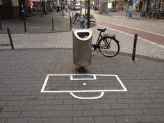 Basket/litter bin (via The Pop-Up City)