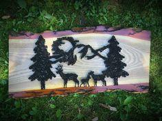 String art ( deer) family