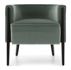 Order bespoke chairs and occasional chairs made to order at The Sofa & Chair Company London's leading manufacturer of designer furniture. Geometric Furniture, Furniture Design, Circle Chair, Sofa And Chair Company, Luxury Chairs, Booth Seating, Industrial Dining Chairs, Used Chairs, Single Sofa