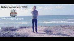 The wave tour project camp on tour with Jalou Langeree Sardinia 2013 #kitesurf #sardinia #kitecircus #jaloulangeree #surf