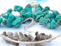 Turquoise Tree of Life Pendant FREE UK by PhillipaJaneDesigns