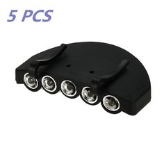 Flashing Panda 5 LED Baseball Cap/Hat Clip-on Flashlight, White light, Lot of 5 Flashlights * This is an Amazon Affiliate link. More info could be found at the image url.